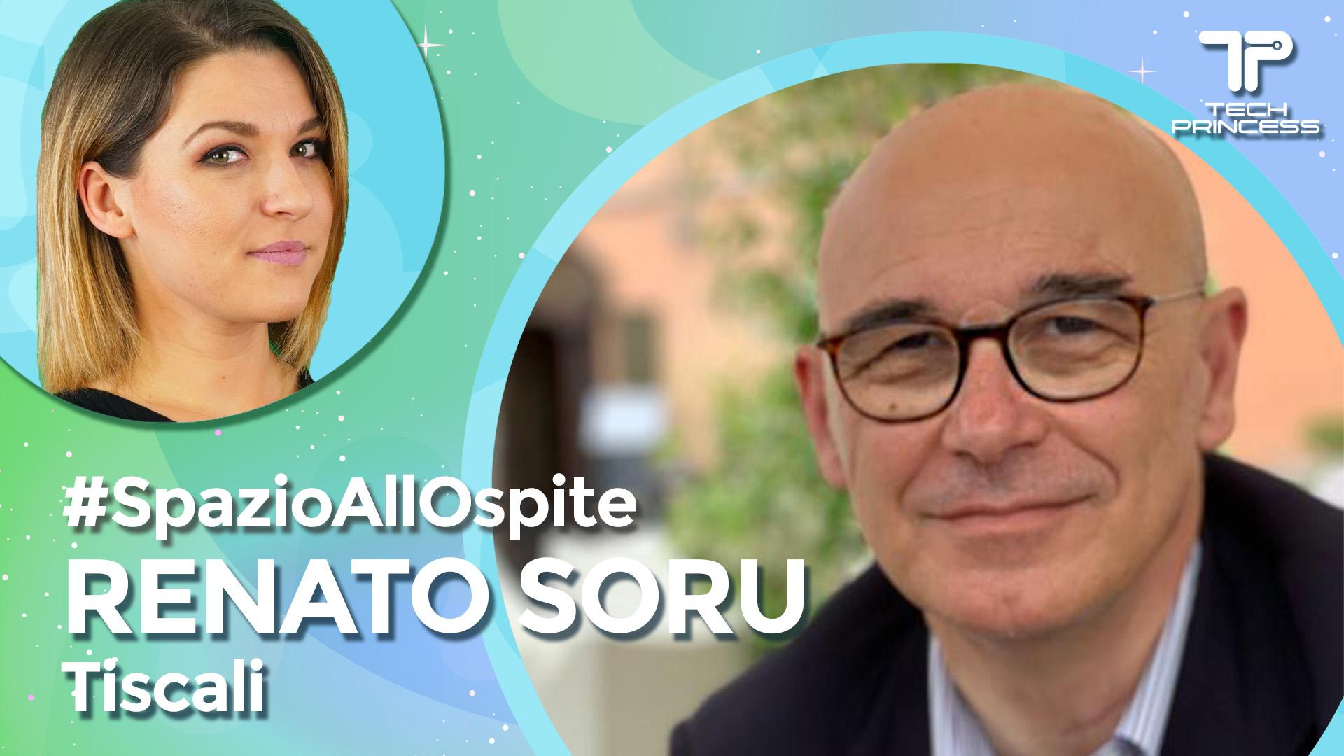 Renato Soru, Tiscali: la grande impresa italiana | Intervista in live #SpazioAllOspite thumbnail
