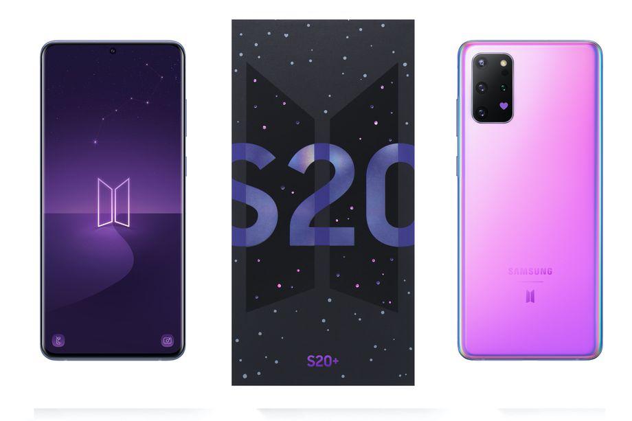 Samsung Galaxy S20+ BTS, un'edizione speciale per i fan della band thumbnail