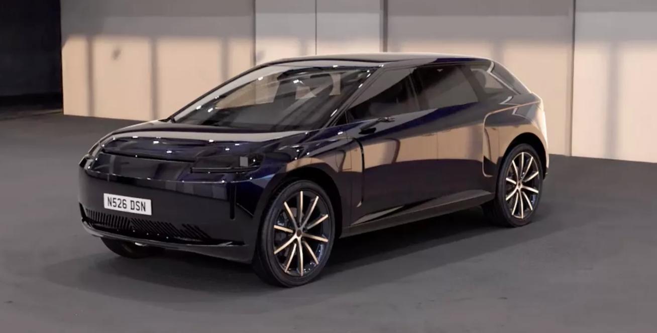 L'auto elettrica Dyson si mostra in nuovi scatti thumbnail