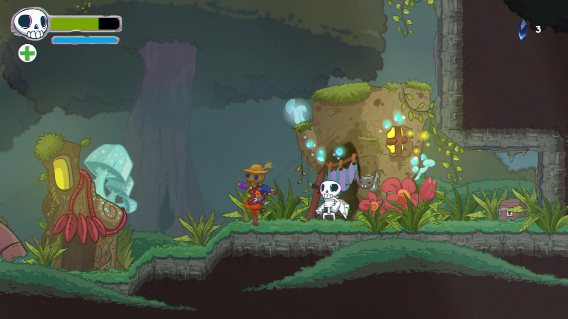 Skelattack-recensione-ambientazione-Tech-Princess