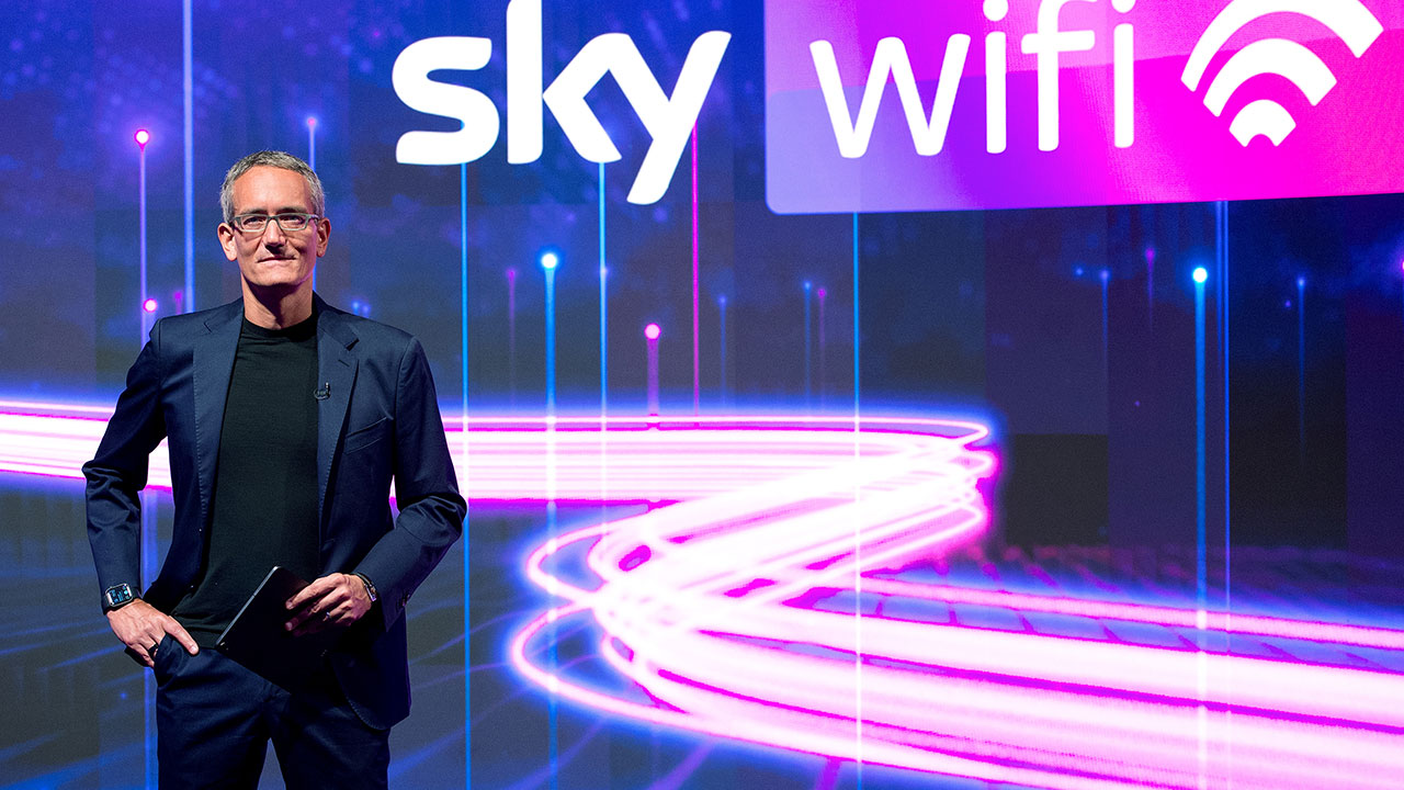 Sky wifi lancio