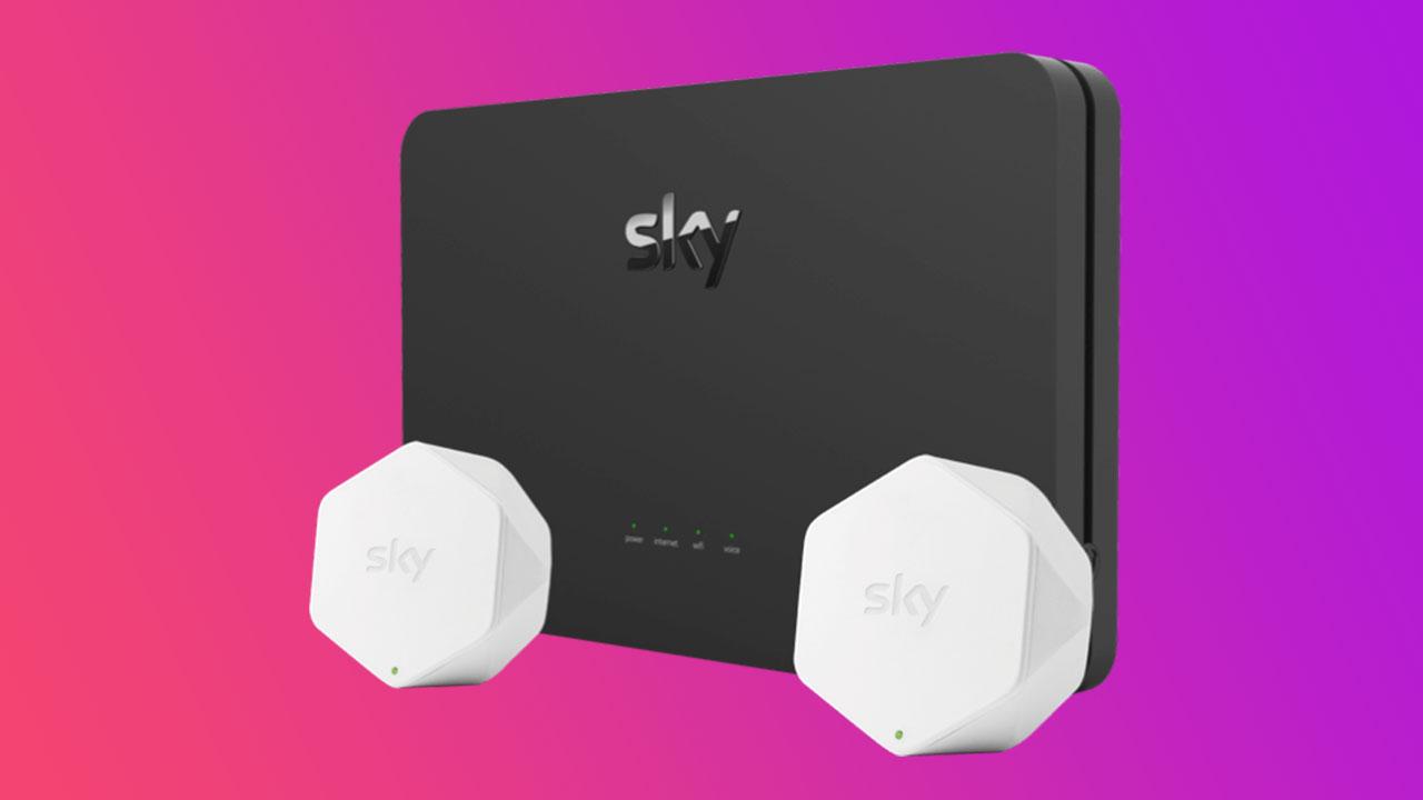 Sky Wifi Hub e Pod