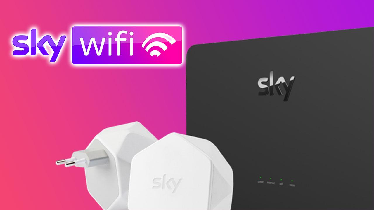 Da oggi Sky porta la fibra a casa vostra: nasce il servizio Sky Wifi thumbnail