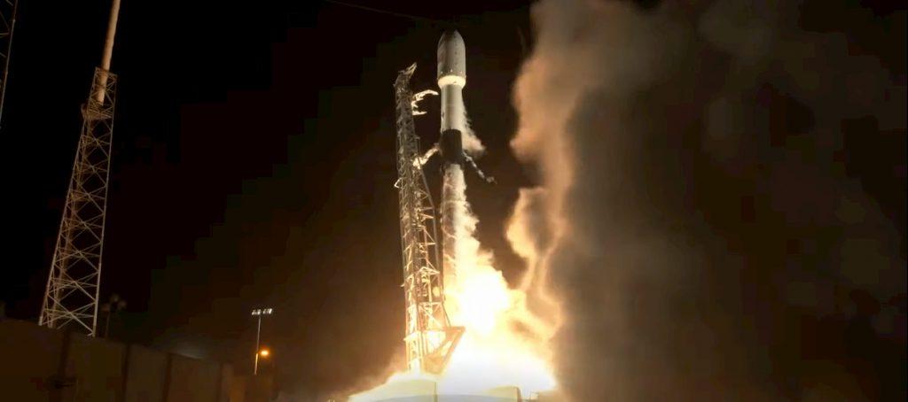 Space X Starlink satellite