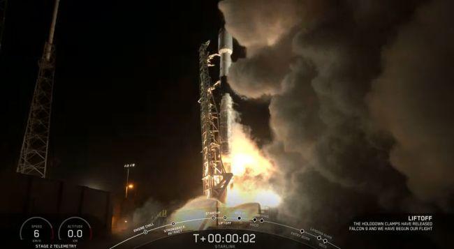 SpaceX Falcon 9 volo
