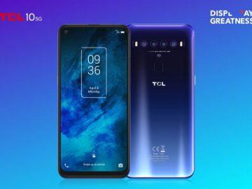 TCL 10 5G copertina