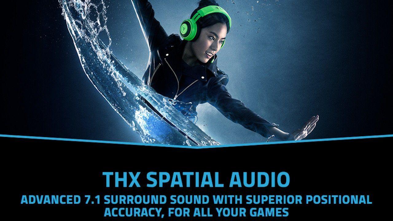 Razer annuncia l'arrivo del THX Spatial Audio App su Windows 10 thumbnail