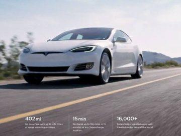 Tesla Model S Long Range Plus 400 miglia