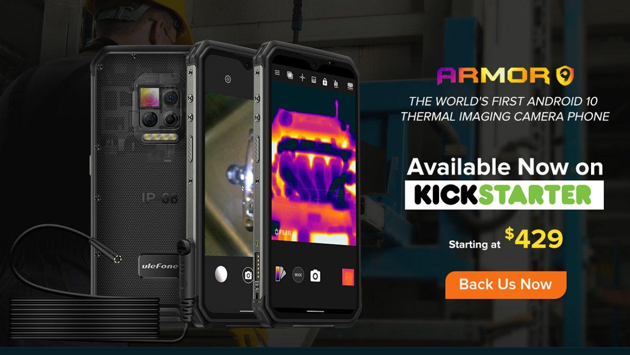 Ulefone Armor 9 disponibile ora su Kickstarter thumbnail