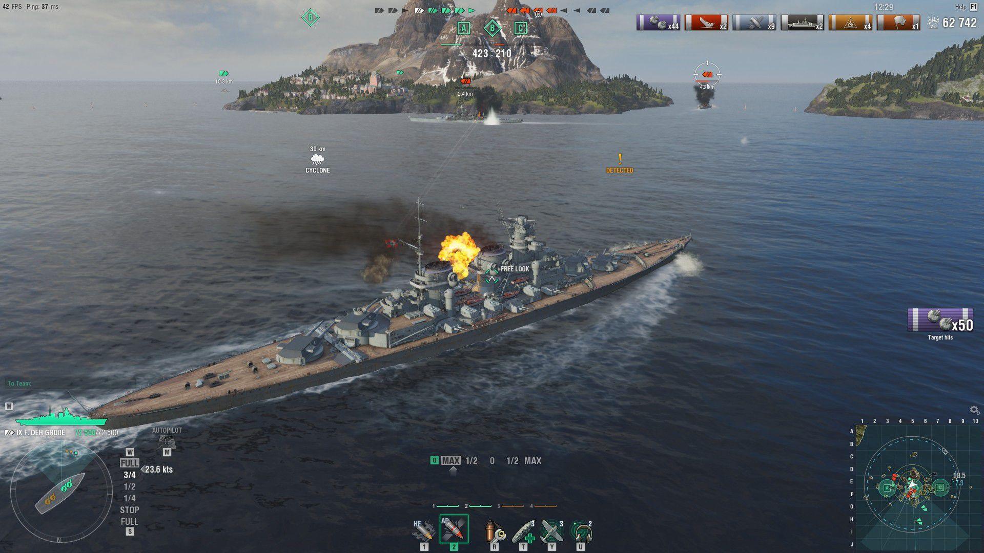 In arrivo un nuovo aggiornamento per World of Warships thumbnail