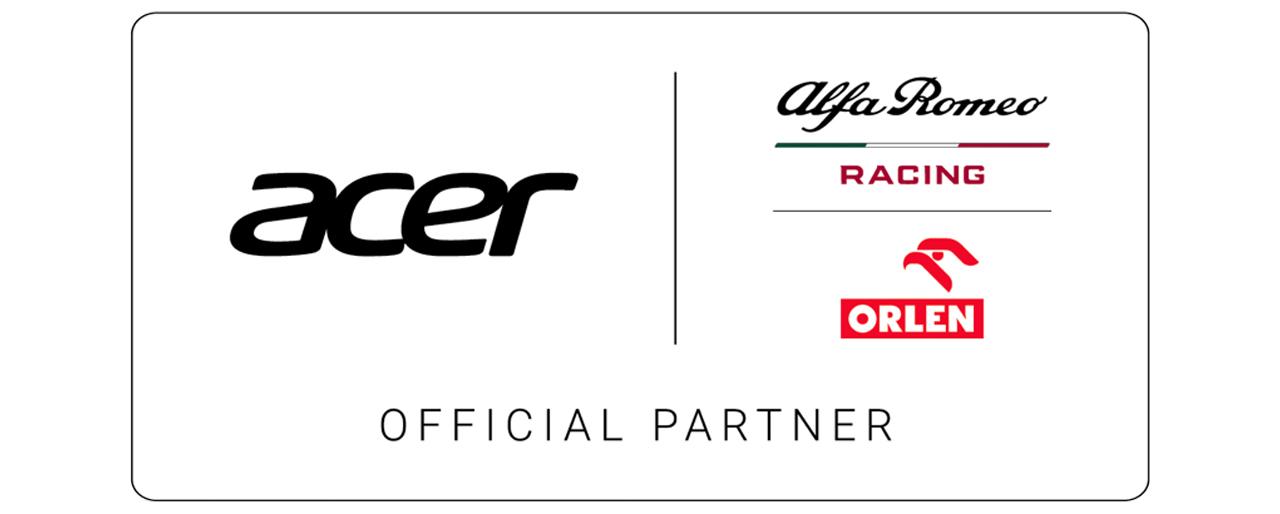 acer partner alfa romeo racing orlen
