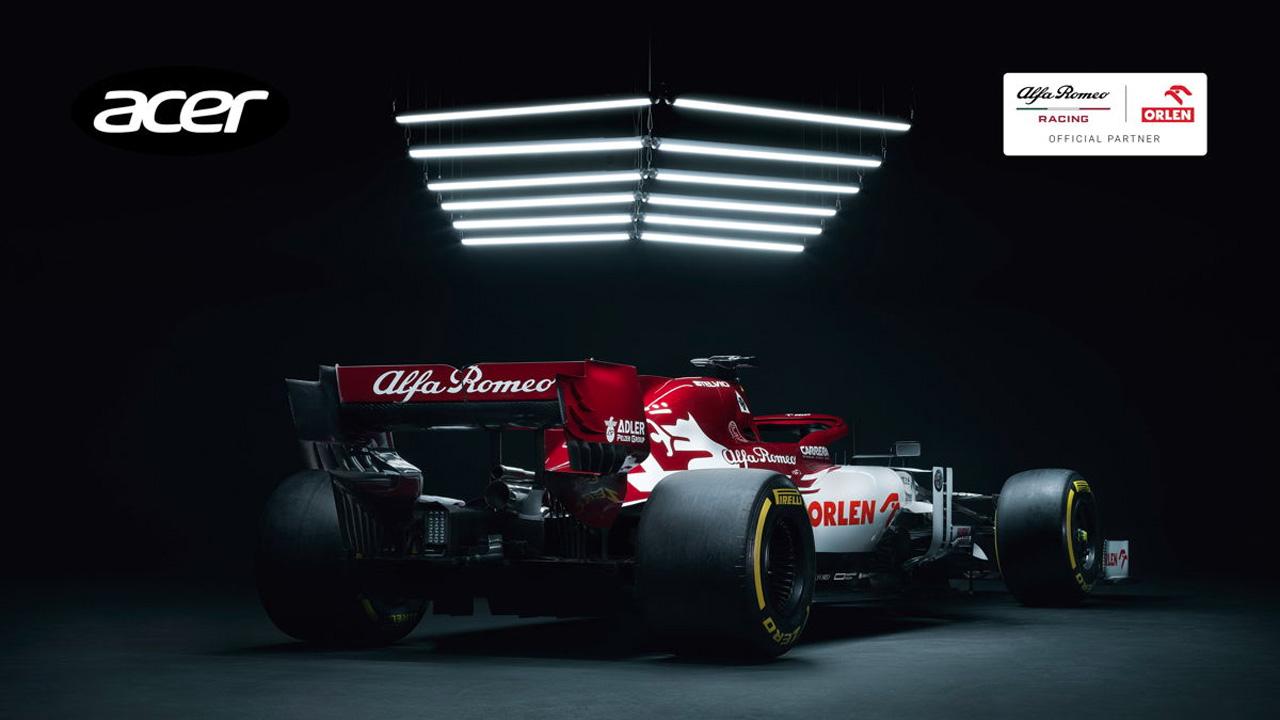 Alfa Romeo Racing ORLEN e Acer spingono sull'innovazione thumbnail