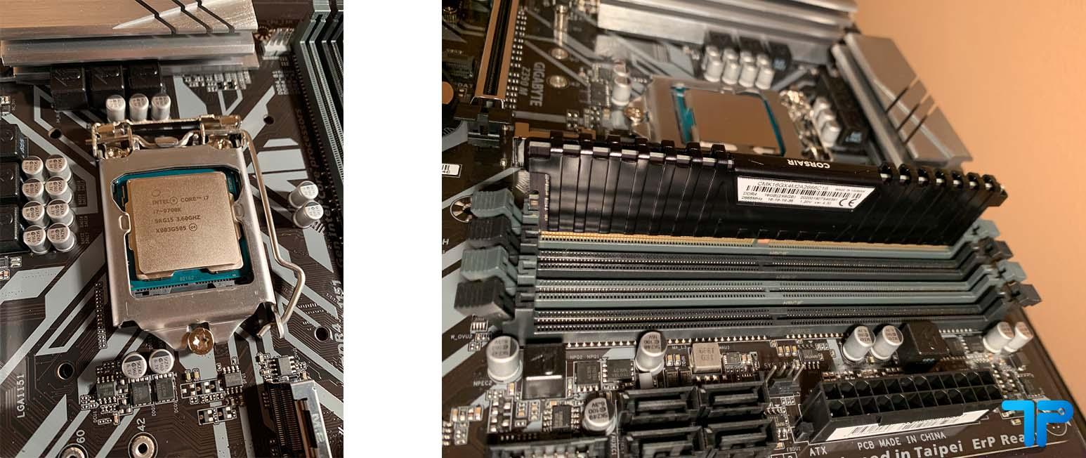 assemblare PC - cpu e ram