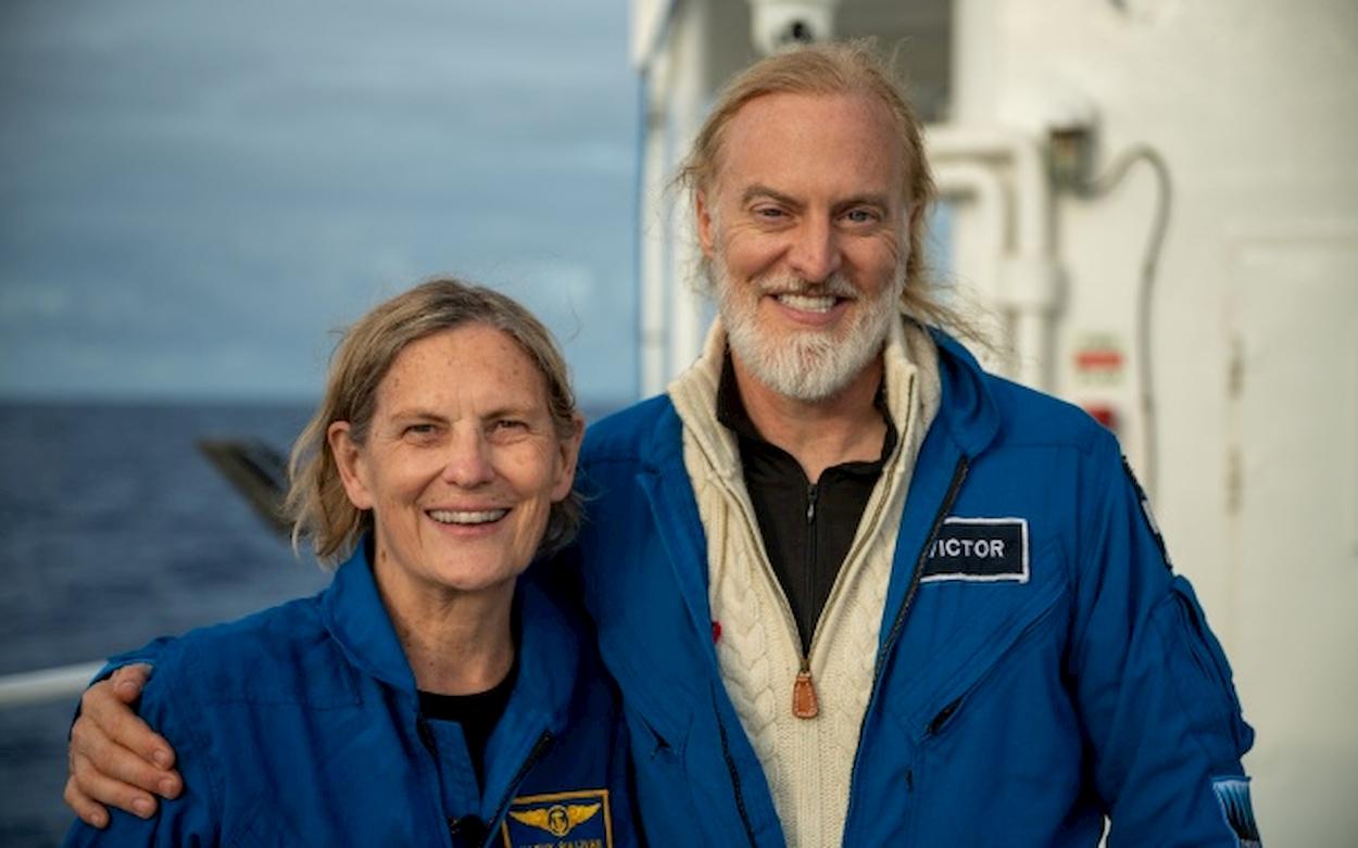 Questa ex-astronauta NASA ha conquistato le profondità dell'oceano thumbnail