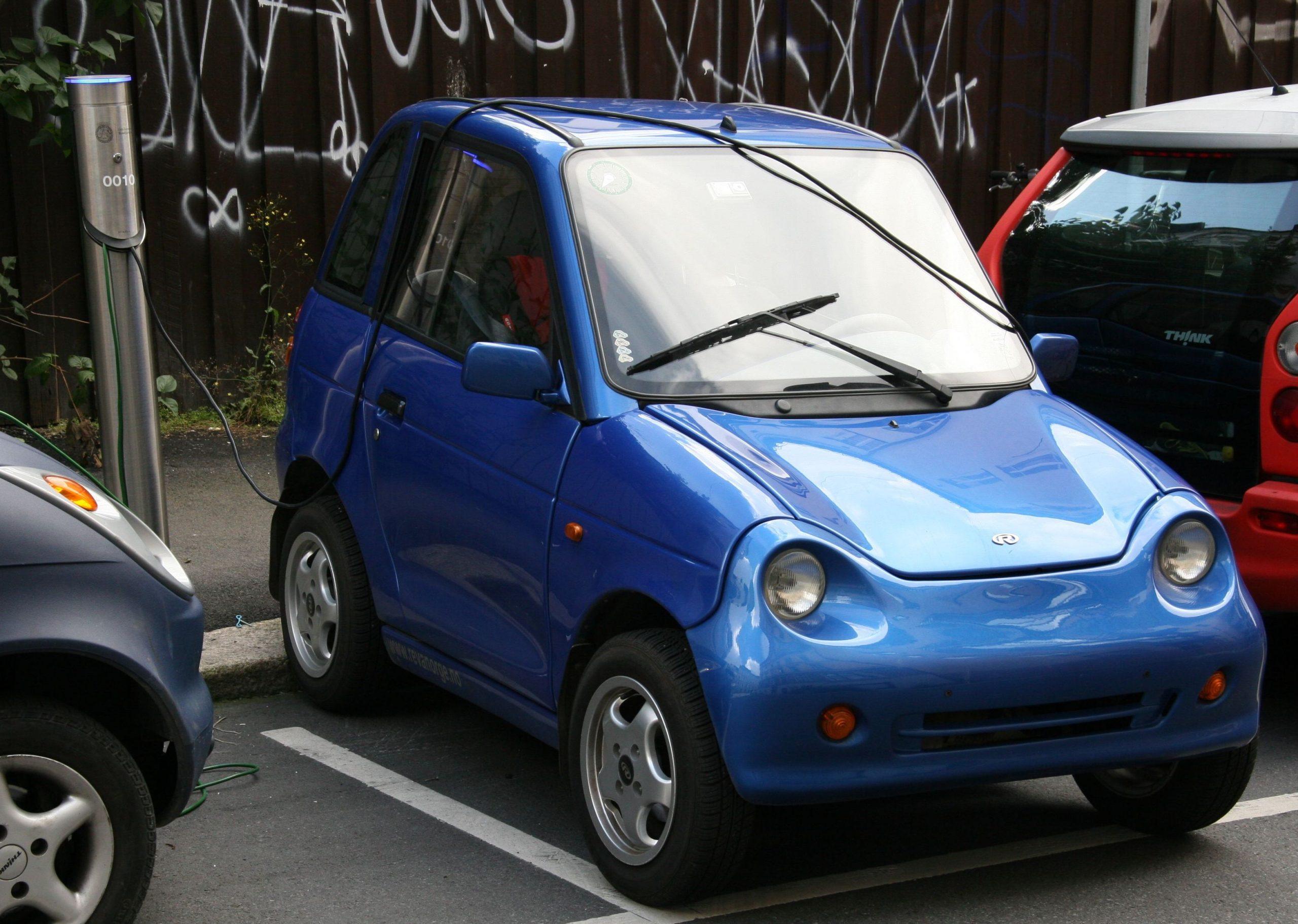auto elettrica g-wiz