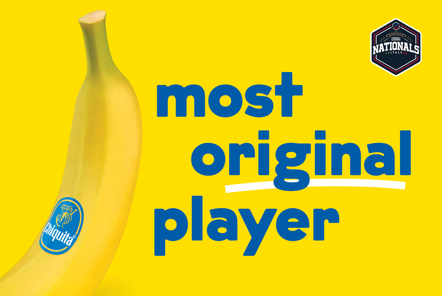 eSport: anche Chiquita entra a farne parte thumbnail