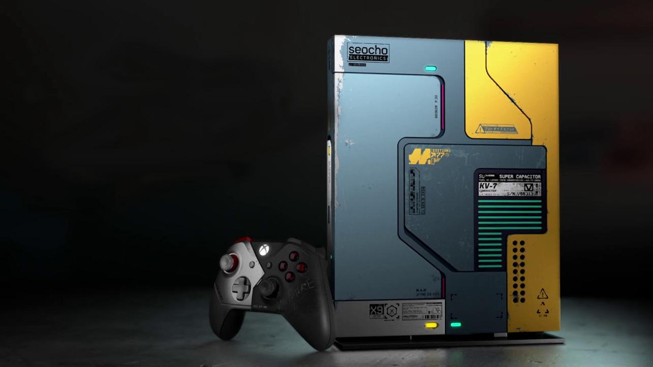 Le Xbox One X di Cyberpunk 2077 hanno un messaggio segreto thumbnail