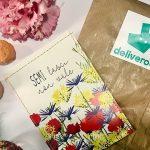 deliveroo fiori consegna giornata ambiente