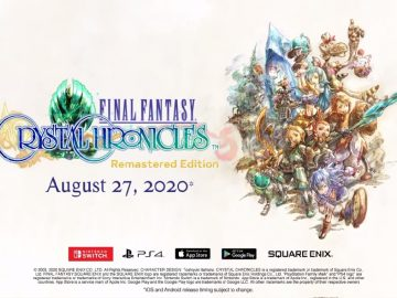 Final Fantasy Crystal Chronicles demo square enix