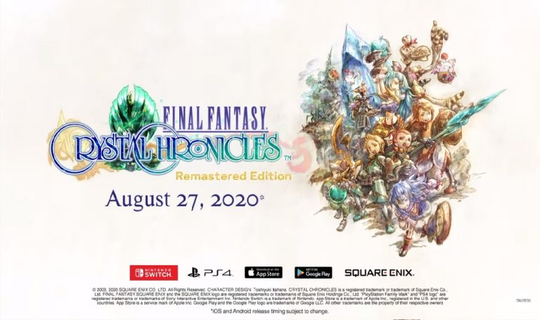 Final Fantasy Crystal Chronicles demo square enix