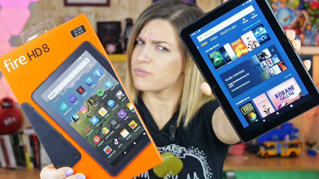 Il tablet che si crede anche un Kindle thumbnail