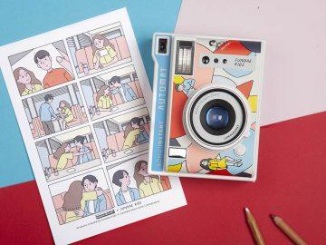 fotocamera istantanea lomography sundae kids