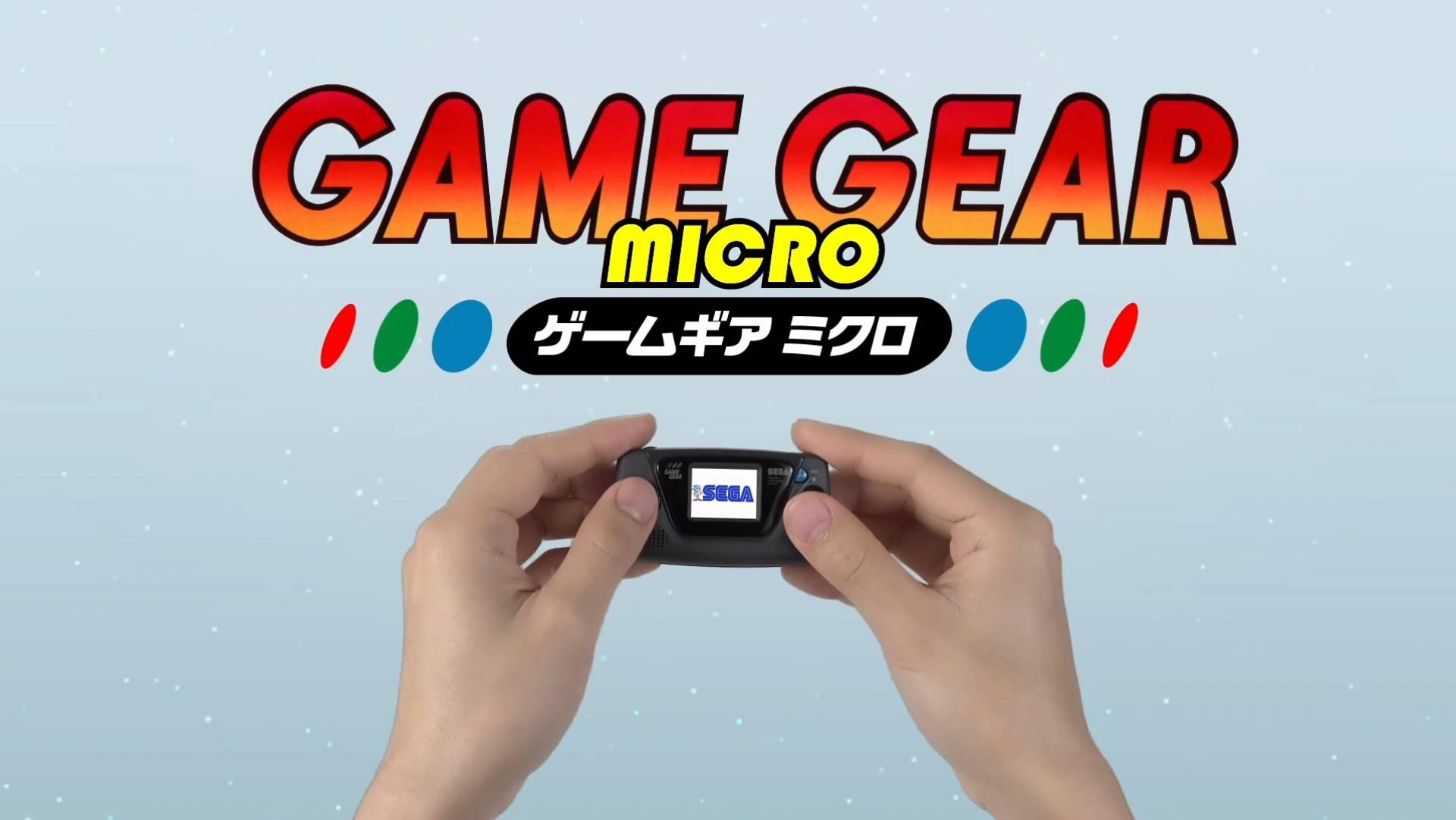 SEGA annuncia il nuovo Game Gear Micro thumbnail