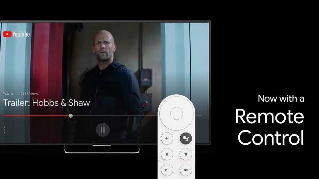 google sabrina android tv telecomando