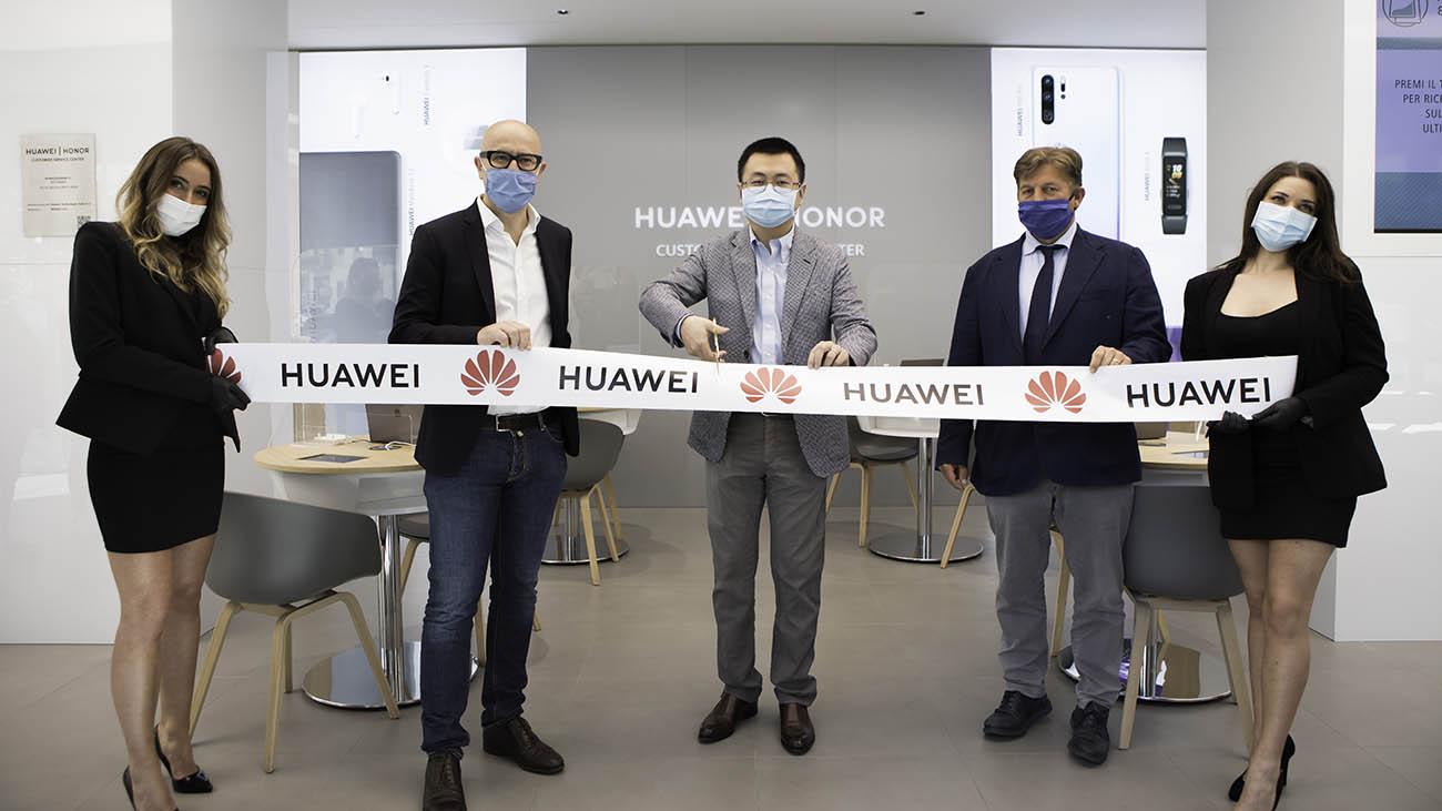 Huawei trasforma l'assistenza tecnica thumbnail