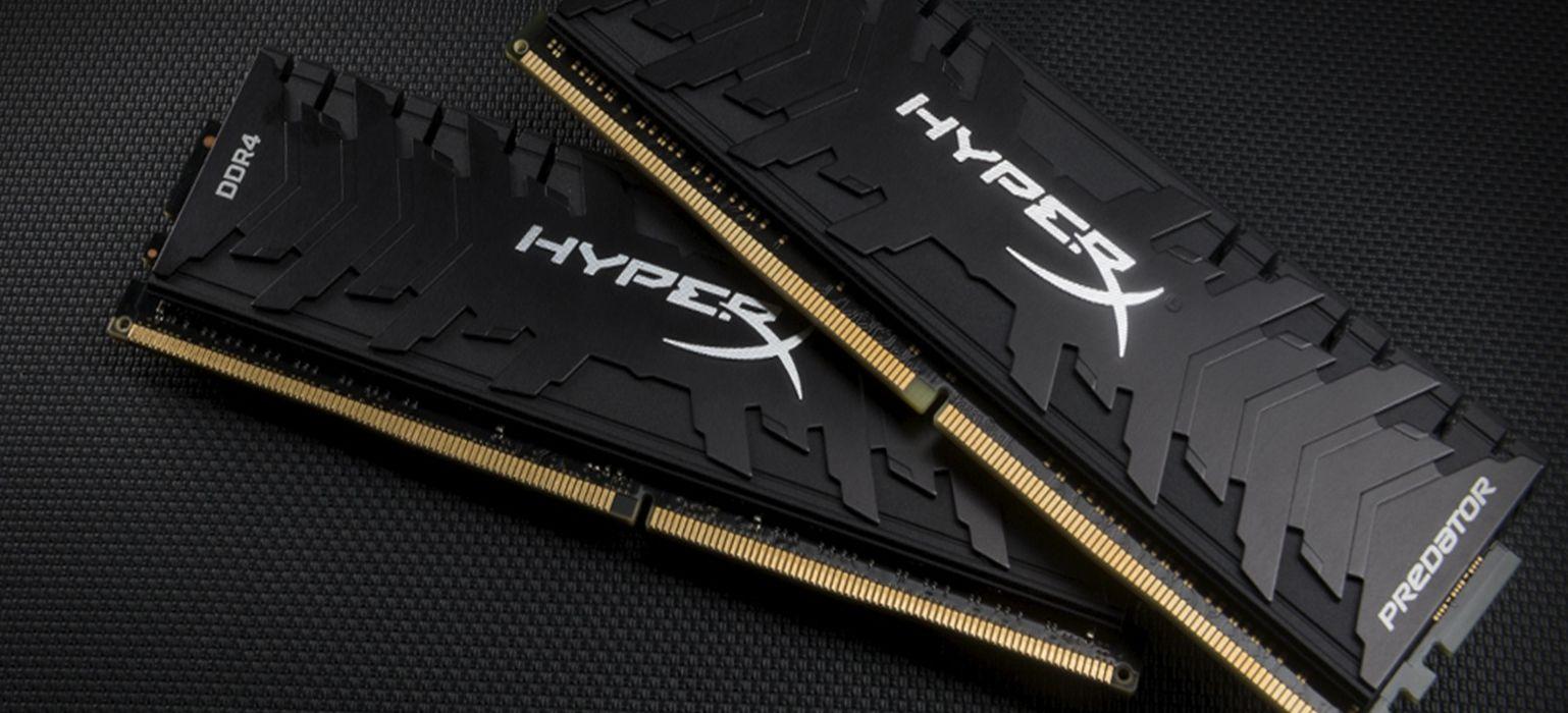 """HyperX Predator e Fury, nuove memorie DDR4 per PC da """"prestazioni"""" thumbnail"""
