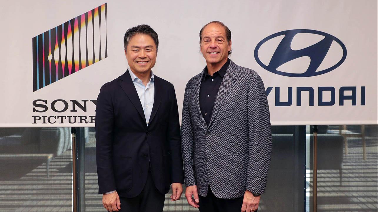 Le Hyundai corrono nei film Sony thumbnail
