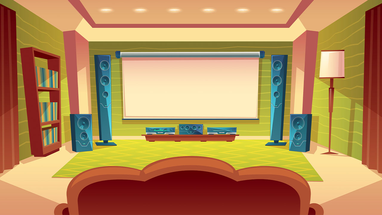 Come creare la tua sala cinema in casa. thumbnail
