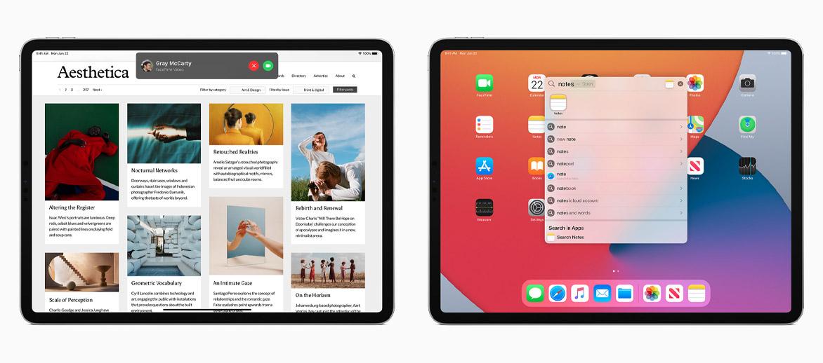 ipadOS 14 siri ricerca - wwdc 2020 apple