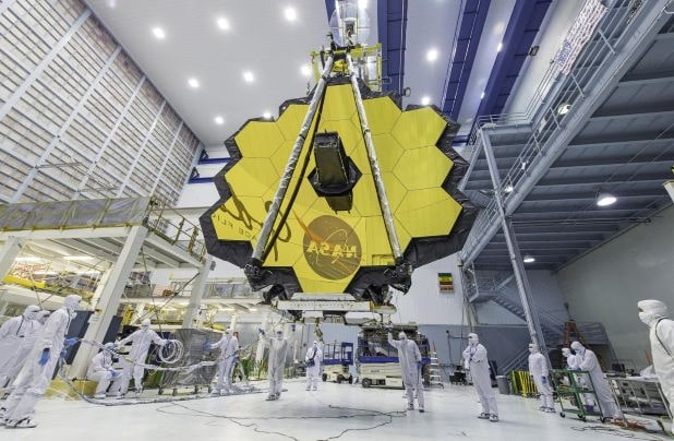 james webb space Telescope missioni spaziali