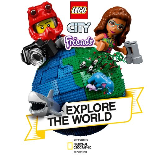 lego e national geographic campagna