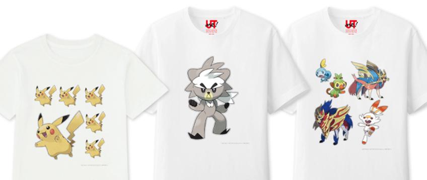 magliette pokémon uniqlo