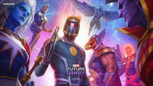Prendi il controllo dei Guardiani della Galassia Il team di eroi spaziali si aggiunge a Marvel Future Fight