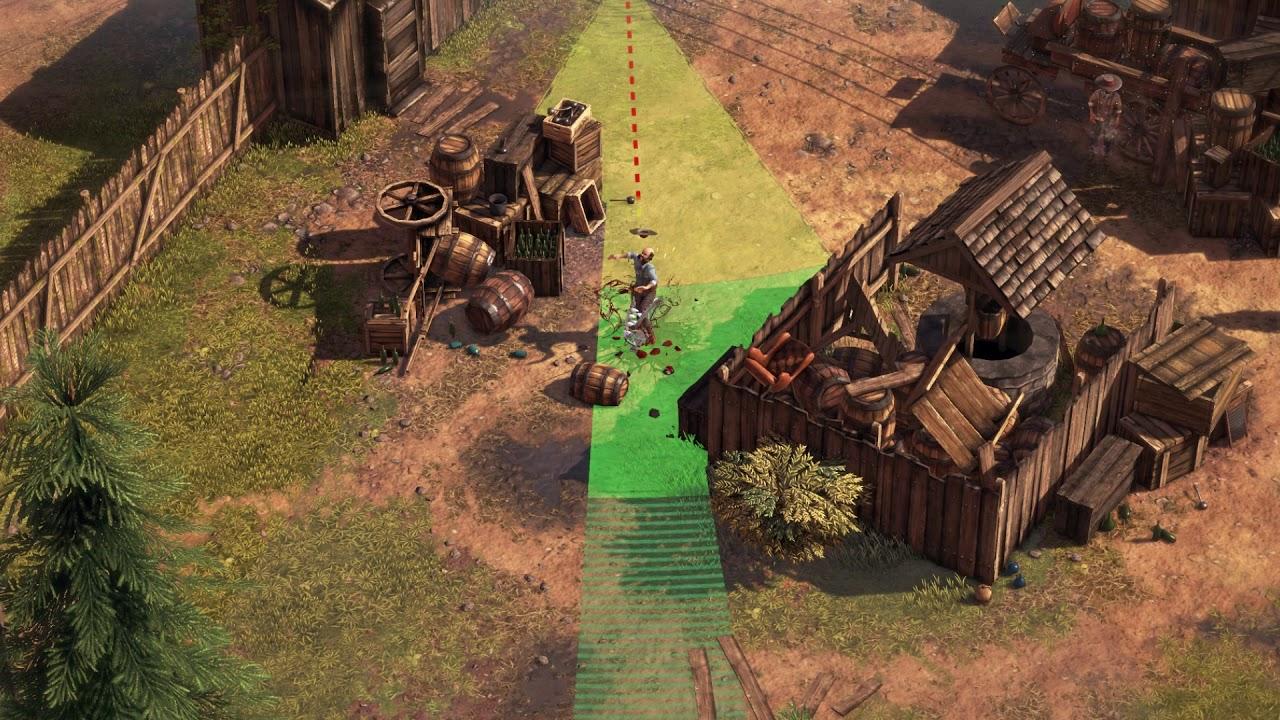 Disponibile il nuovo speciale Miniatures Trailer di Desperados III thumbnail
