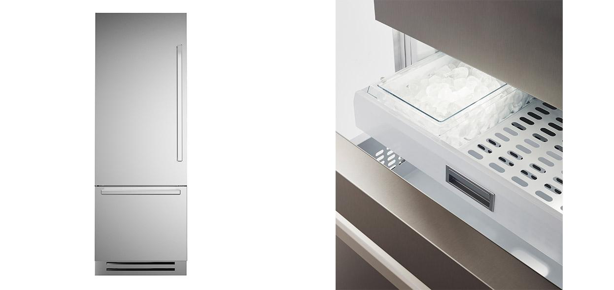 nuovo frigorifero ad incasso bertazzoni