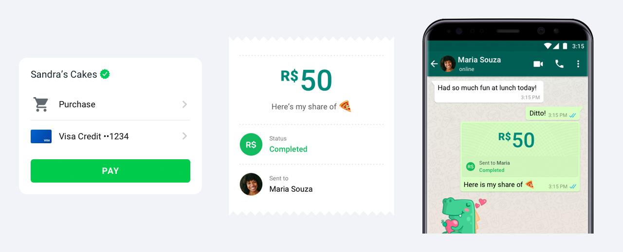 pagamenti whatsapp come funzionano
