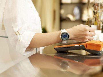 pagare smartwatch contagio contactless garmin pay