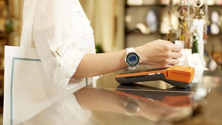 pagare smartwatch contagio contactless garmin pay