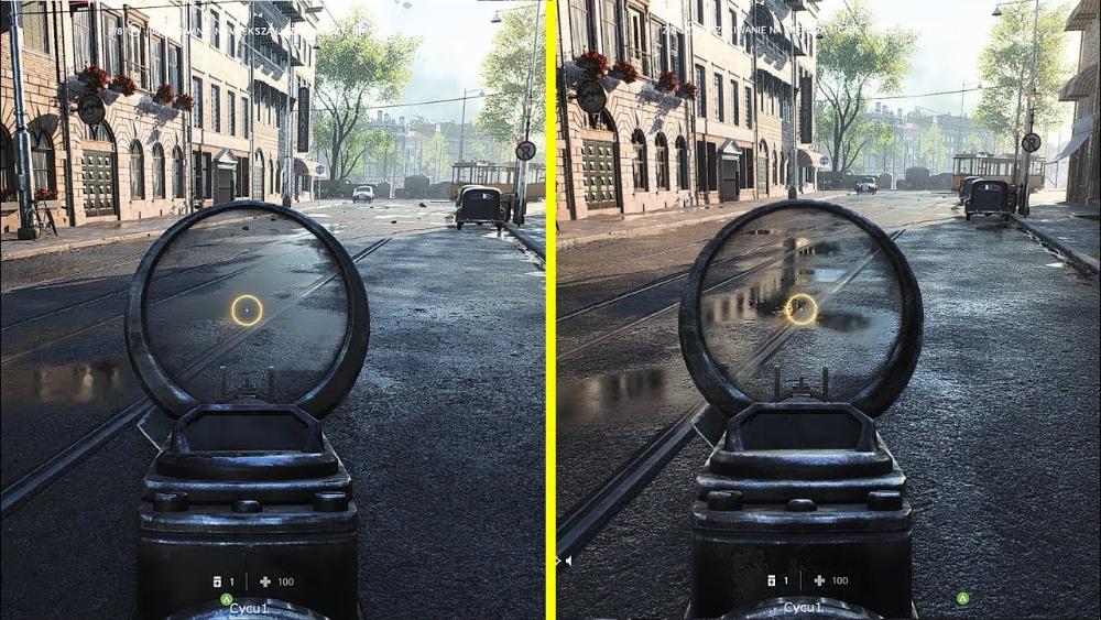 ray tracing riflessi battlefield V