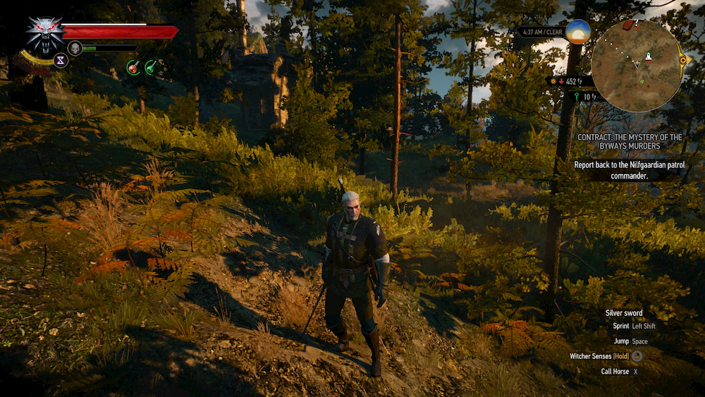 ray tracing the witcher shadow mapping