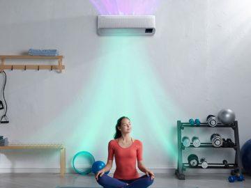 samsung climatizzatori wind-free