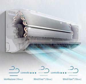samsung tecnologia wind-free