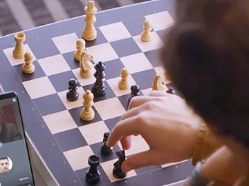 scacchi online square off videochiamate