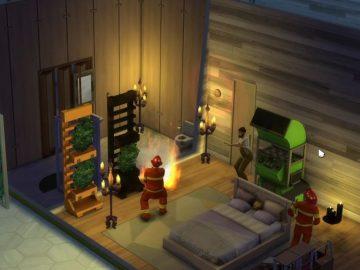 the sims 4 bug pompieri