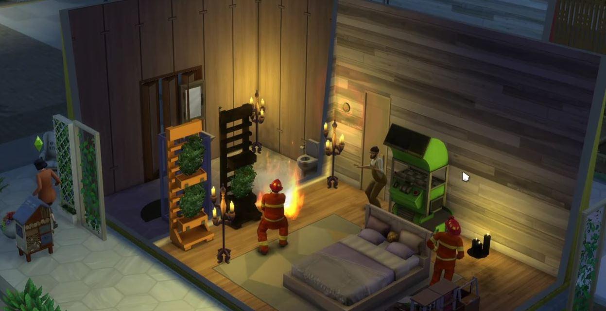 """Un bug in The Sims 4 fa andare """"a fuoco"""" la vescica dei Sims thumbnail"""