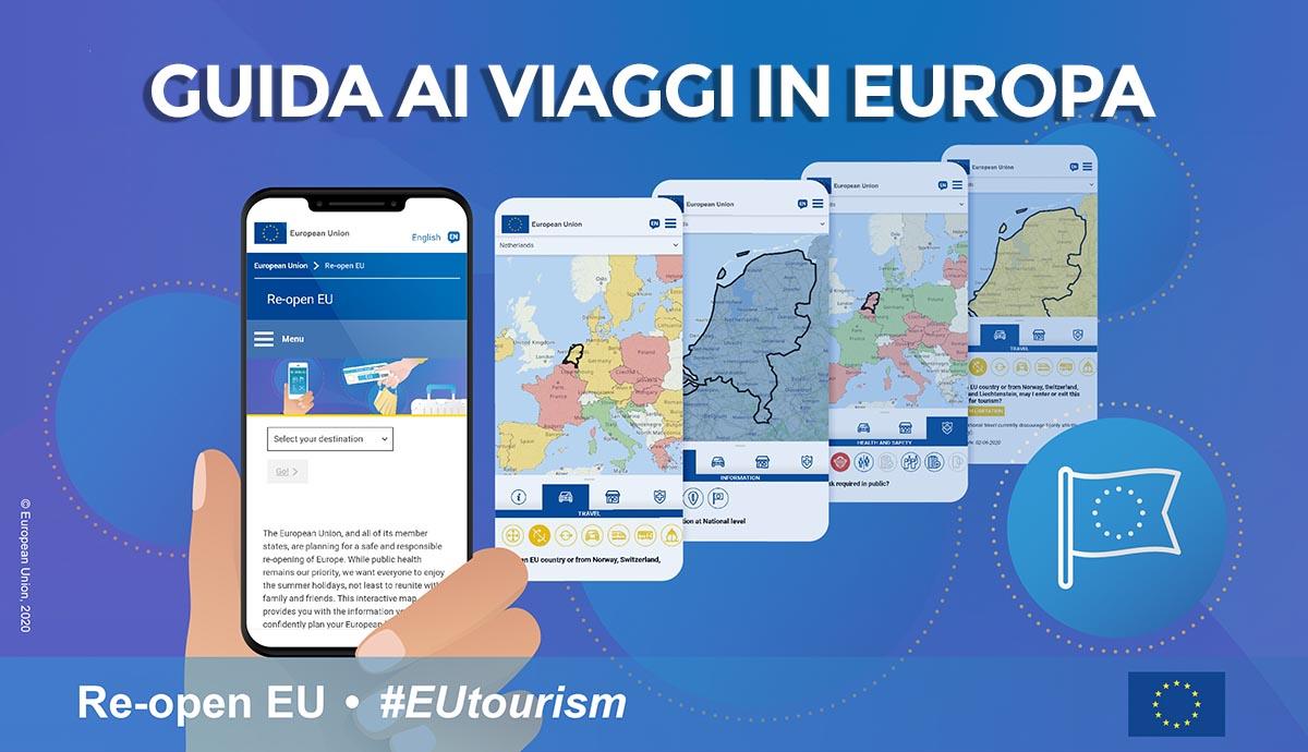 Viaggiare in Europa ai tempi del Covid: la mappa interattiva ti dice dove puoi andare thumbnail
